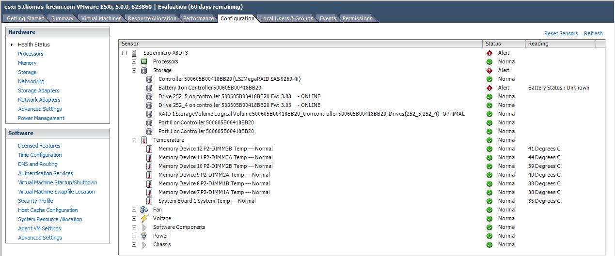 VMware ESXi Hardware with Nagios or Icinga Monitoring