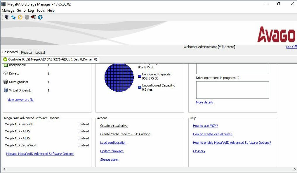 Firmware Update (MegaRAID Controller) via MegaRAID Storage Manager