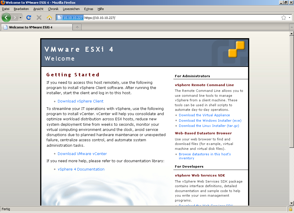 Installation von VMware vSphere Client 4 0 – Thomas-Krenn-Wiki