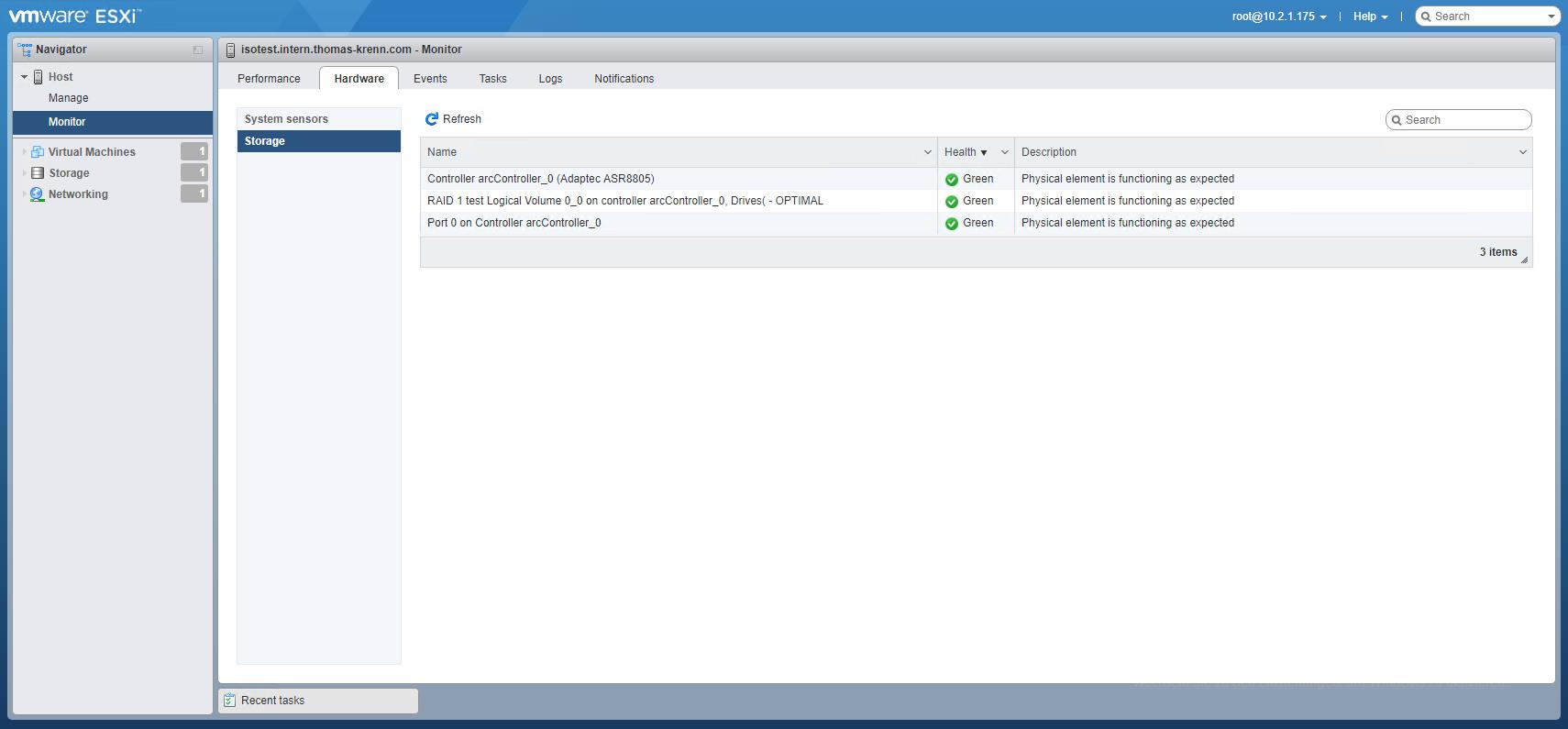 Adaptec RAID Controller in VMware überwachen – Thomas-Krenn-Wiki