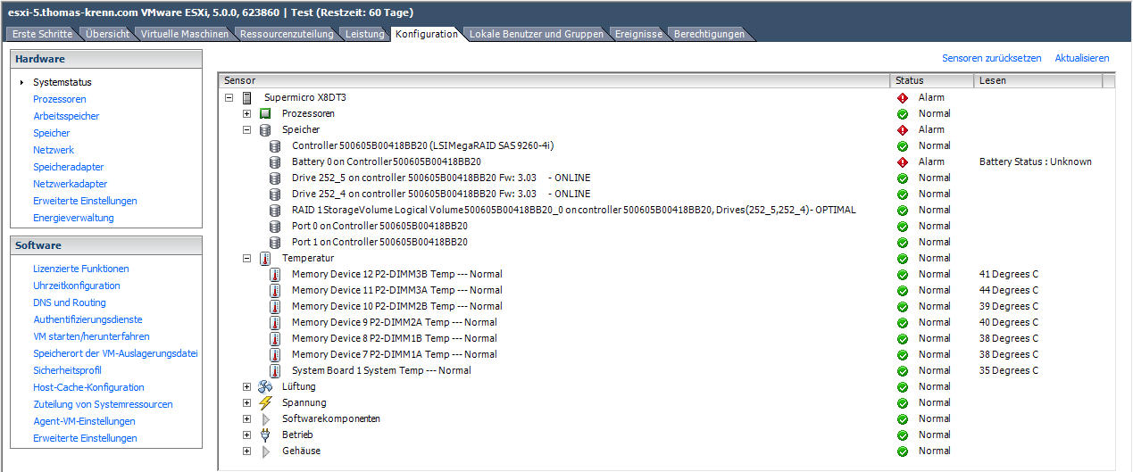 Monitoring MegaRAID Controllers in VMware - Thomas-Krenn-Wiki