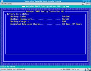 Battery Backup Unit (BBU/BBM) Maintenance for RAID Controllers
