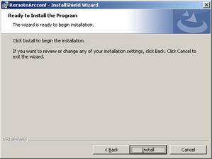 Adapte-remote-arcconf-Installation-Windows-05-Ready-to-Install.png