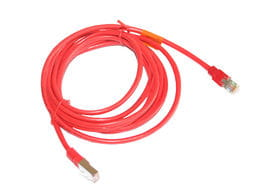 Cables - Crossover Patch Cable 3m (red)