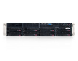 Individually Reduced Items - 2U Supermicro chassis SC825TQC-600LPB (SAS-3) (B-stock)