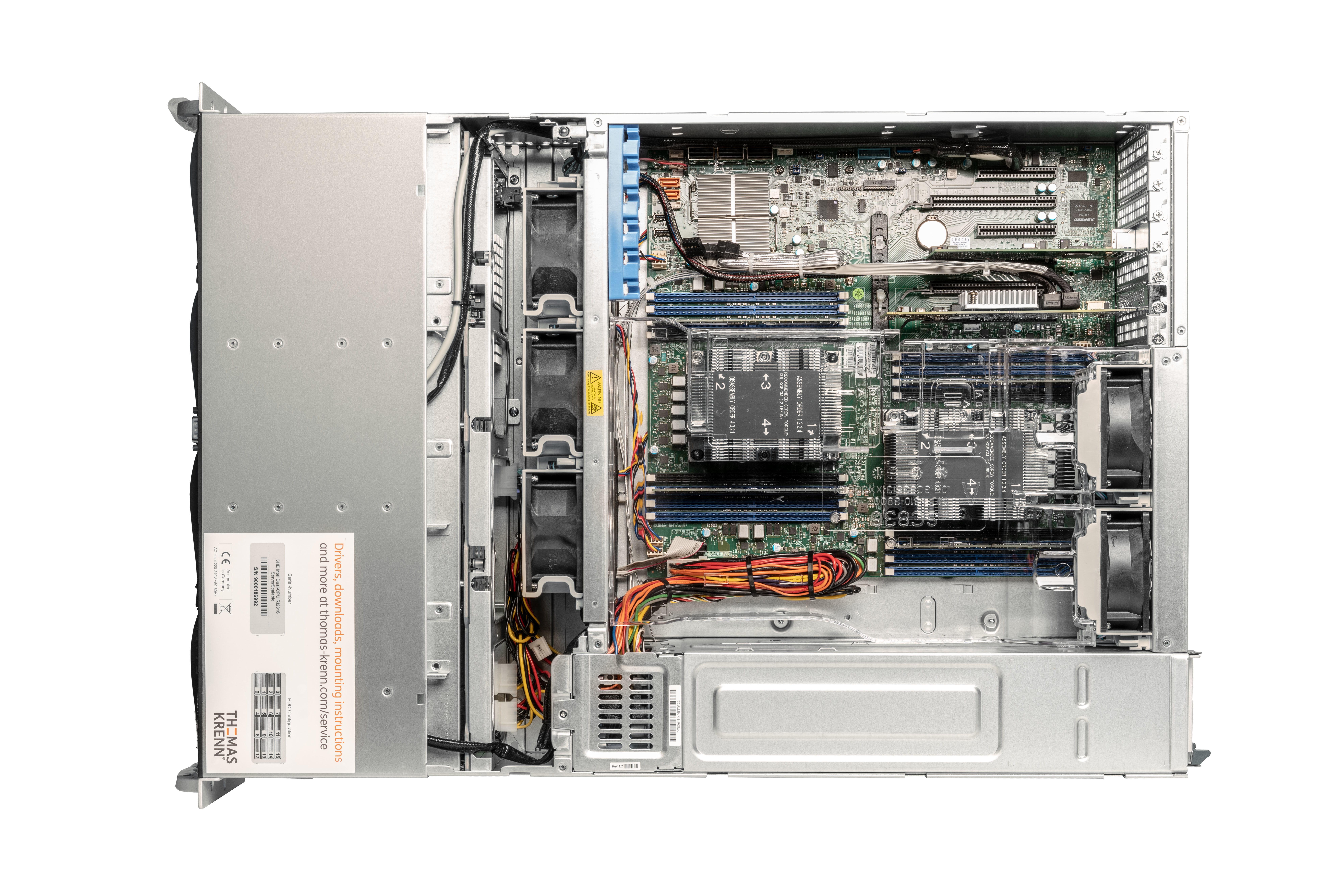 3U Intel Dual-CPU RI2316 Server