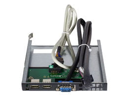 Individually Reduced Items - Supermicro Front USB Kit for SC825 (2x USB, 1x COM)