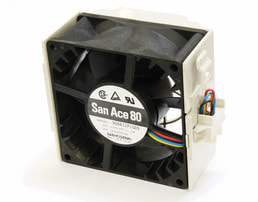3U AMD Dual-CPU RA2316 Server - Detail Cooler 1