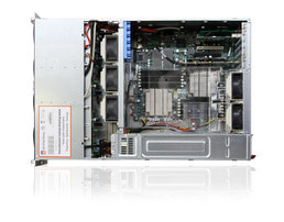3U Intel Dual-CPU SC836 Server Server - Internal view