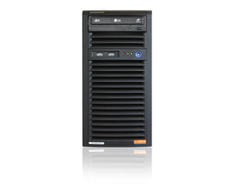 Server-Tower Intel Single-CPU SC731 - Front view