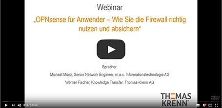 OPNSense Firewall | Thomas-Krenn AG