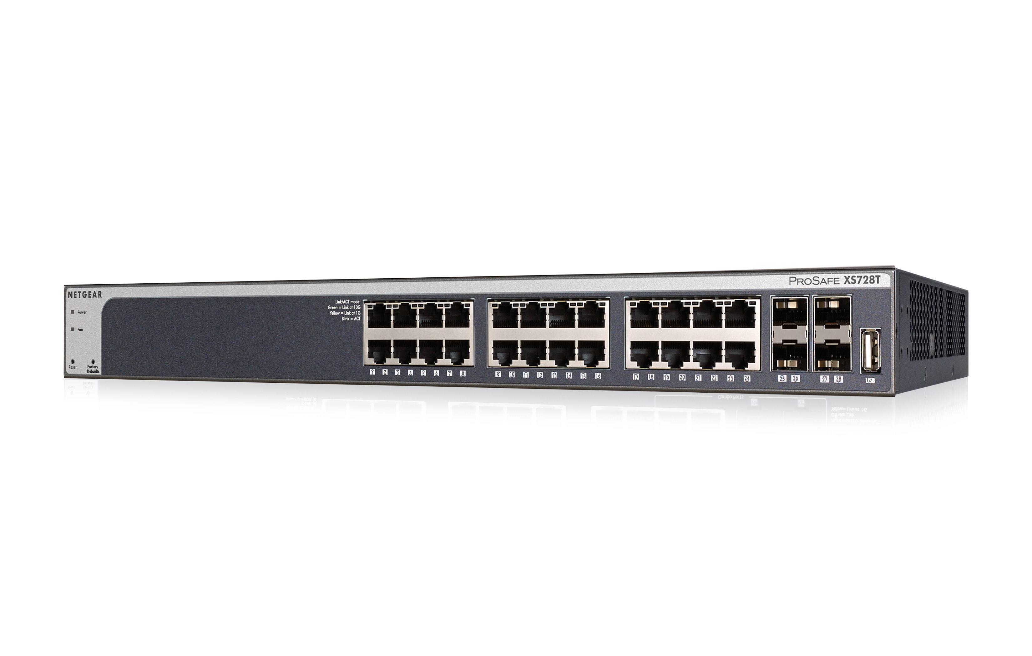 24 Port 10gb Switch Netgear Xs728t Thomas Krenn Ag