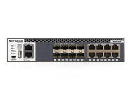 Netgear Fully Managed M4300 (SFP+/10GBASE-T) - 16portový 10GE switch Netgear M4300-8X8F (XSM4316S)