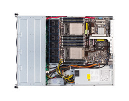 1U Intel dual-CPU RI2104-HSM - Vista interna