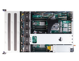 2HE OpenPOWER Single-CPU RP2112 Server - Innenansicht