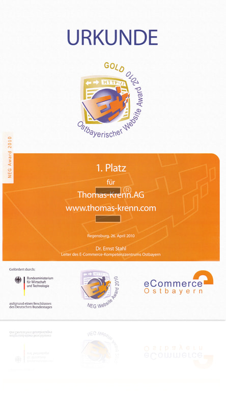 Ostbayerischer Website Award 2010