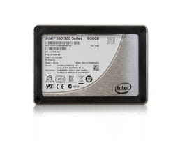 Hard Disks / Slots - Flash drive » 600 GB SATA II Intel SSD MLC 2,5""