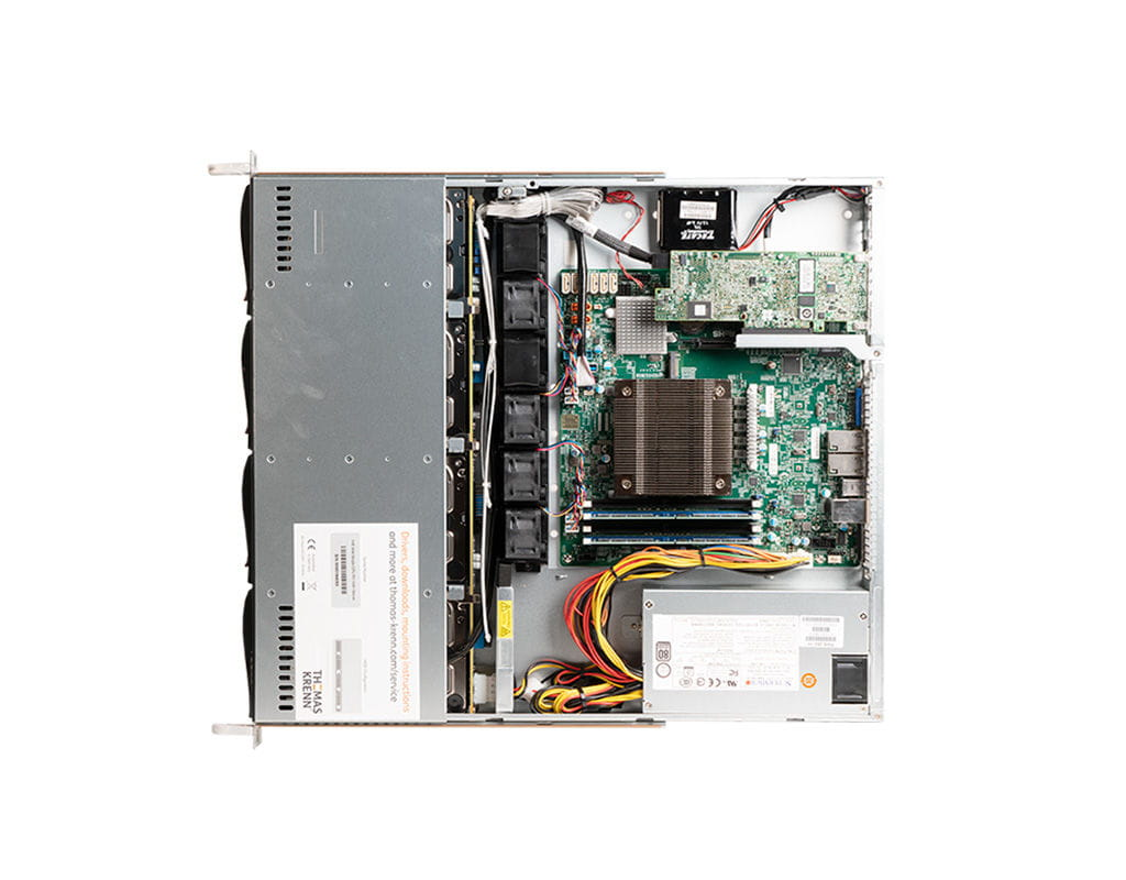 1U Intel Single-CPU RI1104H Server