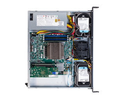 Server 1U Intel Single CPU RI1102H - Vista interna