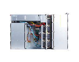 4U disk expansion unit JBOD J2444 - Vista frontal