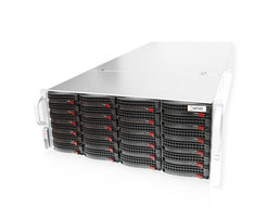 NexentaStor Unified Storage RI2424 - Serveransicht