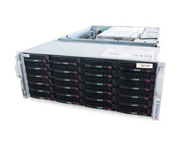 4U Intel Dual-CPU SC847 Server - Server Inside