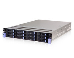 2HE OpenPOWER Single-CPU RP2112 Server - Serveransicht