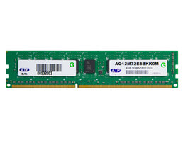 Main Memory - 4 GB ECC DDR3 1600 RAM 2 Rank ATP (1x 4096 MB)