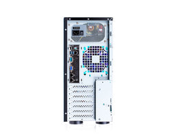Tower server Intel Single-CPU TI104+ - Pohled zezadu